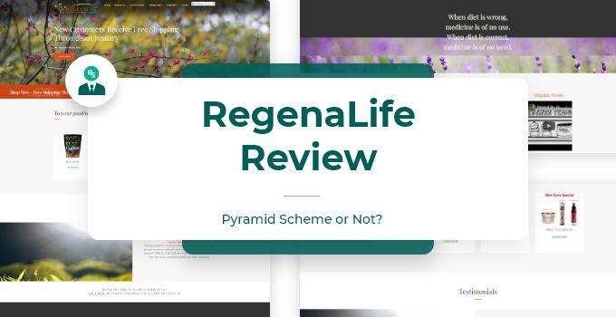 RegenaLife MLM Review