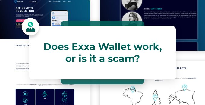Does Exxa Wallet work, or is it a scam
